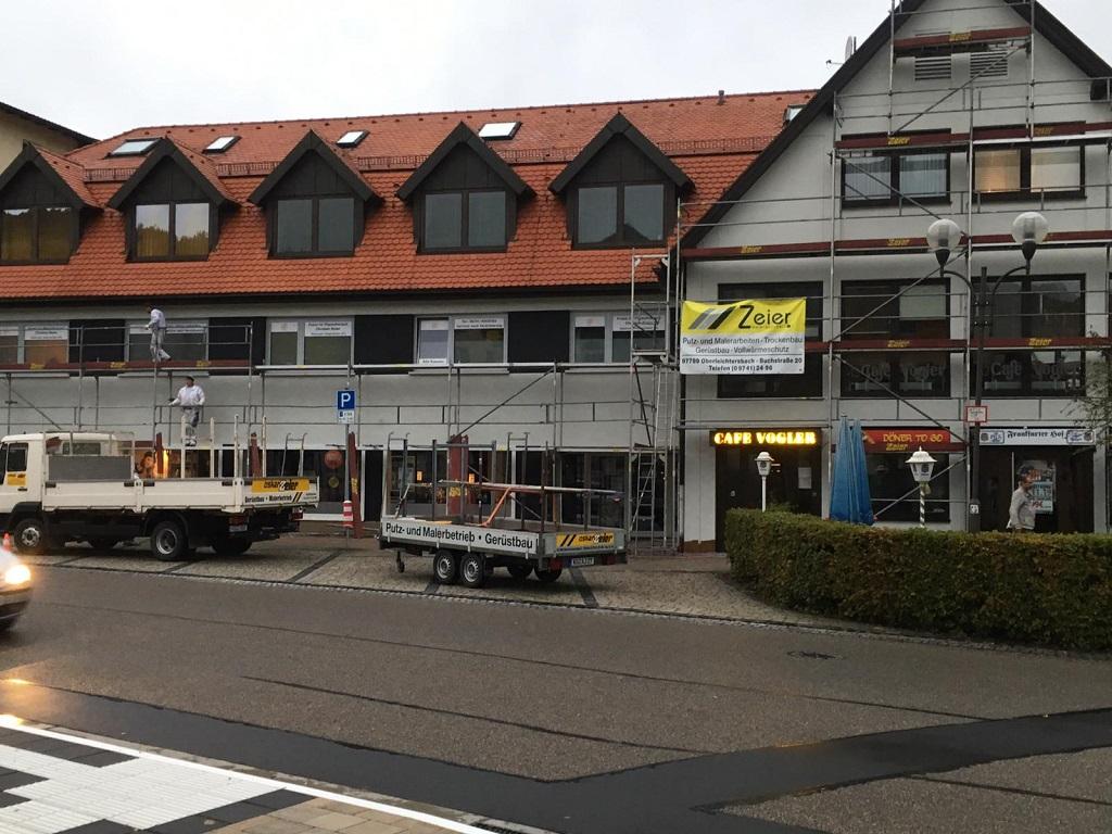 Mietobjekt in Bad Brückenau - Außenputz / Verputzer Design / Wandputz / Maler