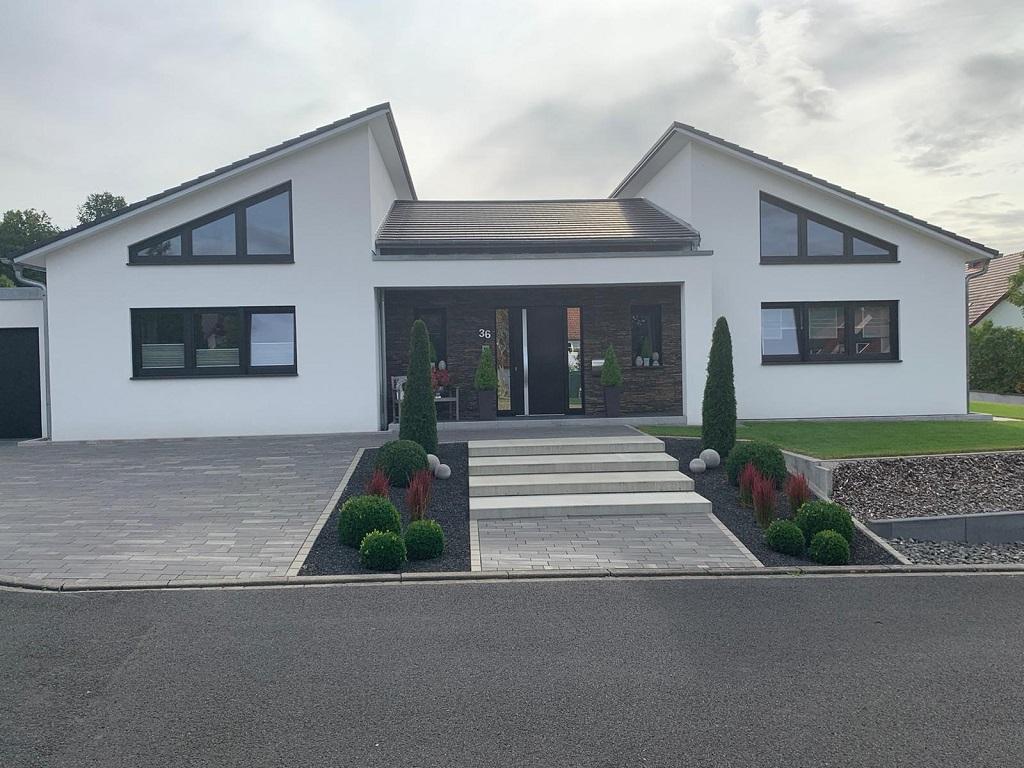 Wohnhaus in Bad Brückenau - Außenputz / Verputzer / Wandputz